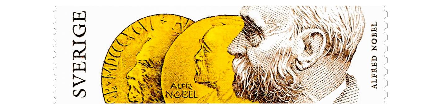 Premios Nobel en la filatelia